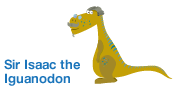 Sir Isaac the Iguanodon