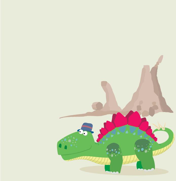 Stompy the Stegasaurus