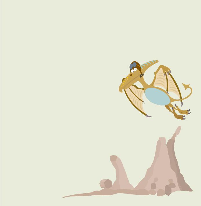Swoop the Pterodactyl