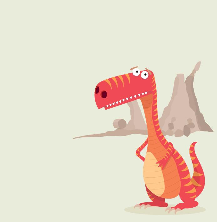 Teeny the Tyranosaurus