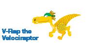 V-Rap the Velociraptor
